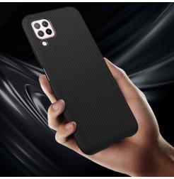6760 - MadPhone релефен TPU калъф за Huawei P40 Lite