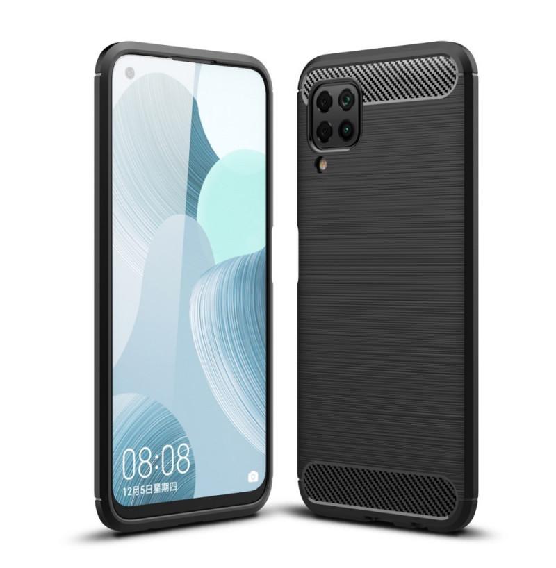 6768 - MadPhone Carbon силиконов кейс за Huawei P40 Lite