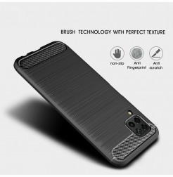 6769 - MadPhone Carbon силиконов кейс за Huawei P40 Lite