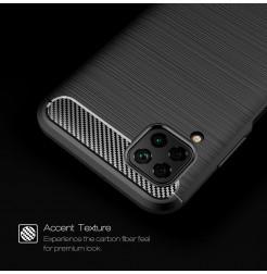 6770 - MadPhone Carbon силиконов кейс за Huawei P40 Lite