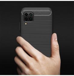 6772 - MadPhone Carbon силиконов кейс за Huawei P40 Lite