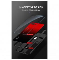 6805 - NXE Sky Glass стъклен калъф за Huawei P40 Lite
