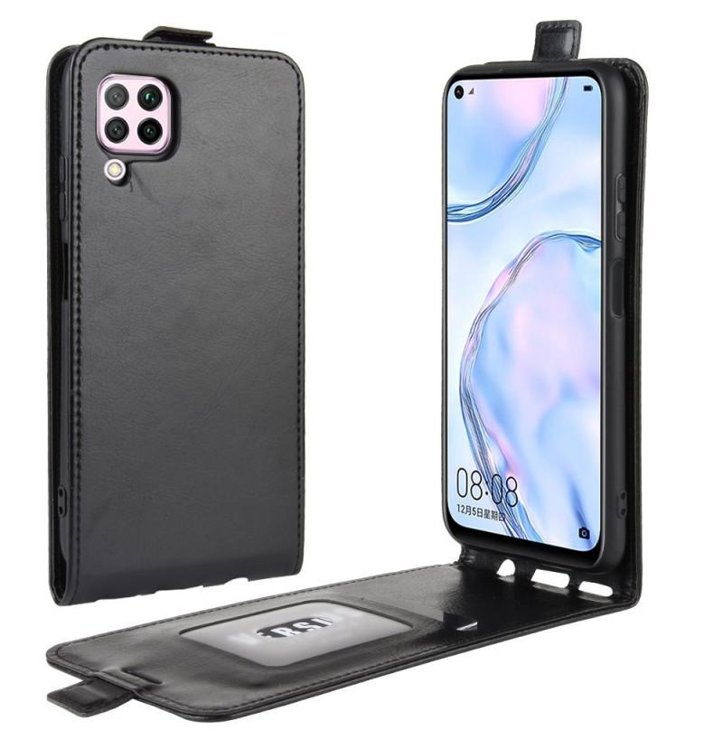 6850 - MadPhone Flip кожен калъф за Huawei P40 Lite