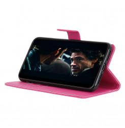 6870 - MadPhone кожен калъф за Huawei P40 Lite