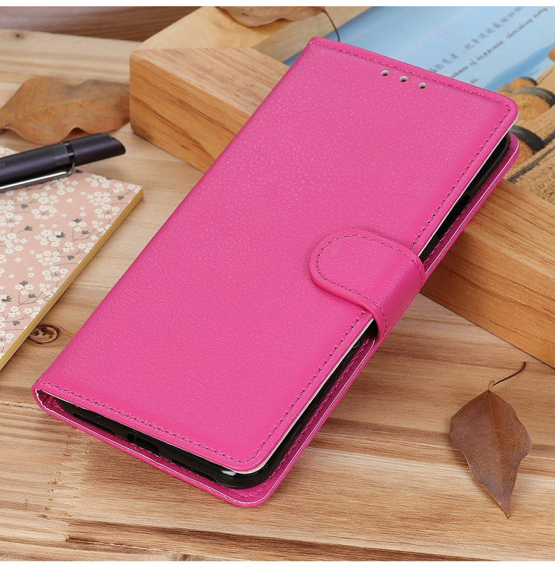 6873 - MadPhone кожен калъф за Huawei P40 Lite
