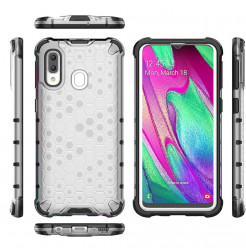 697 - MadPhone HoneyComb хибриден калъф за Samsung Galaxy A40
