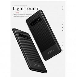 7000 - iPaky Carbon силиконов кейс калъф за Samsung Galaxy S10