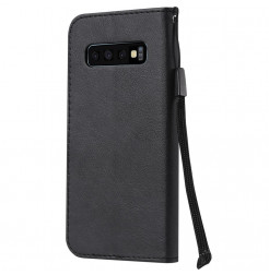 7036 - MadPhone Classic кожен калъф за Samsung Galaxy S10