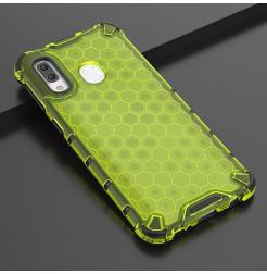 709 - MadPhone HoneyComb хибриден калъф за Samsung Galaxy A40