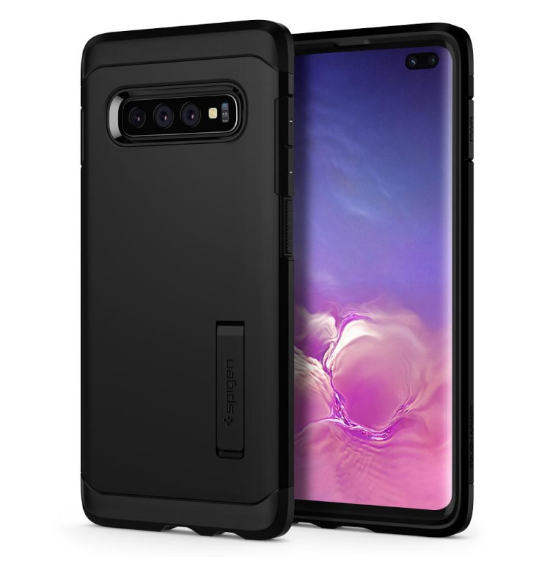 7204 - Spigen Tough Armor кейс за Samsung Galaxy S10+ Plus