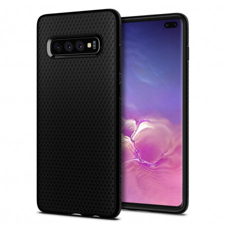 7222 - Spigen Liquid Air силиконов калъф за Samsung Galaxy S10+ Plus