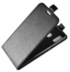 724 - MadPhone Flip кожен калъф за Samsung Galaxy A40