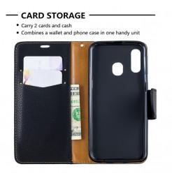 725 - MadPhone кожен калъф за Samsung Galaxy A40