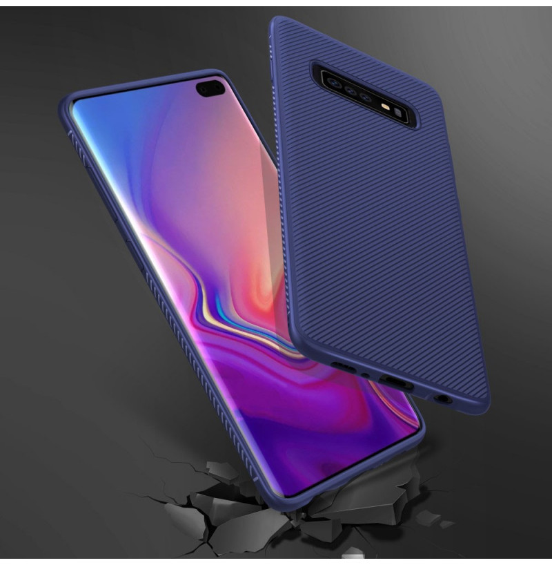 7299 - MadPhone релефен TPU калъф за Samsung Galaxy S10+ Plus