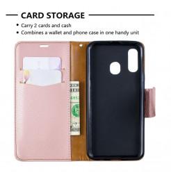 736 - MadPhone кожен калъф за Samsung Galaxy A40