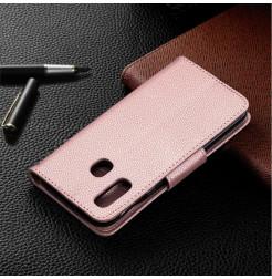 738 - MadPhone кожен калъф за Samsung Galaxy A40