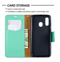 745 - MadPhone кожен калъф за Samsung Galaxy A40