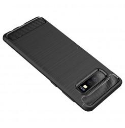 7477 - MadPhone Carbon силиконов кейс за Samsung Galaxy S10+ Plus