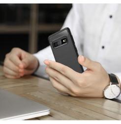 7478 - MadPhone Carbon силиконов кейс за Samsung Galaxy S10+ Plus