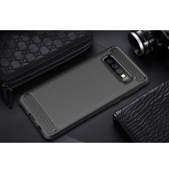 7479 - MadPhone Carbon силиконов кейс за Samsung Galaxy S10+ Plus