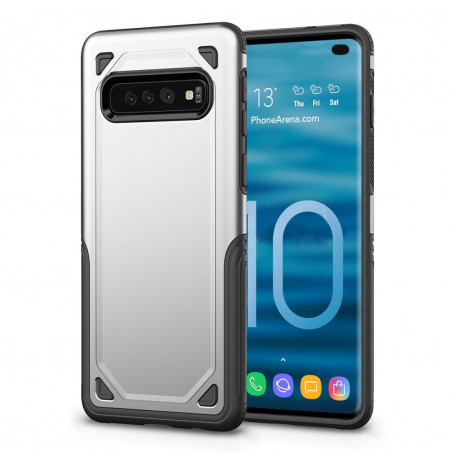 7526 - MadPhone Defender хибриден калъф за Samsung Galaxy S10+ Plus