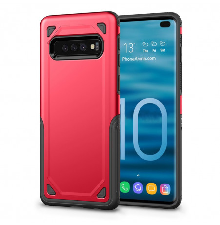 7532 - MadPhone Defender хибриден калъф за Samsung Galaxy S10+ Plus