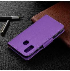 758 - MadPhone кожен калъф за Samsung Galaxy A40