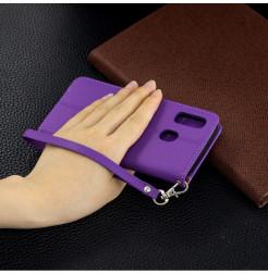 759 - MadPhone кожен калъф за Samsung Galaxy A40