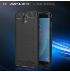 7626 - MadPhone Carbon силиконов кейс за Samsung Galaxy J7 (2017) J730