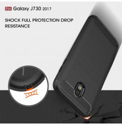 7629 - MadPhone Carbon силиконов кейс за Samsung Galaxy J7 (2017) J730