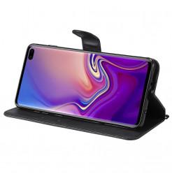 7665 - MadPhone Classic кожен калъф за Samsung Galaxy S10+ Plus