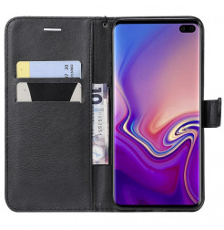 7666 - MadPhone Classic кожен калъф за Samsung Galaxy S10+ Plus