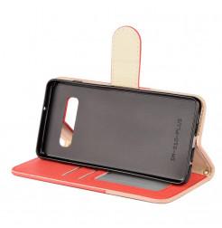 7700 - MadPhone Split кожен калъф за Samsung Galaxy S10+ Plus