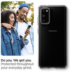 7782 - Spigen Liquid Crystal силиконов калъф за Samsung Galaxy S20