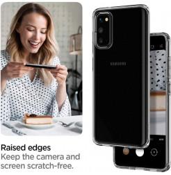 7783 - Spigen Liquid Crystal силиконов калъф за Samsung Galaxy S20