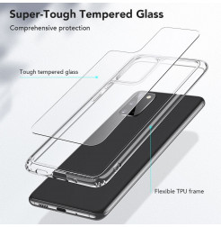 7819 - ESR Ice Shield хибриден стъклен калъф за Samsung Galaxy S20
