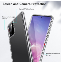 7820 - ESR Ice Shield хибриден стъклен калъф за Samsung Galaxy S20