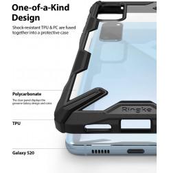 7842 - Ringke Fusion X хибриден кейс за Samsung Galaxy S20