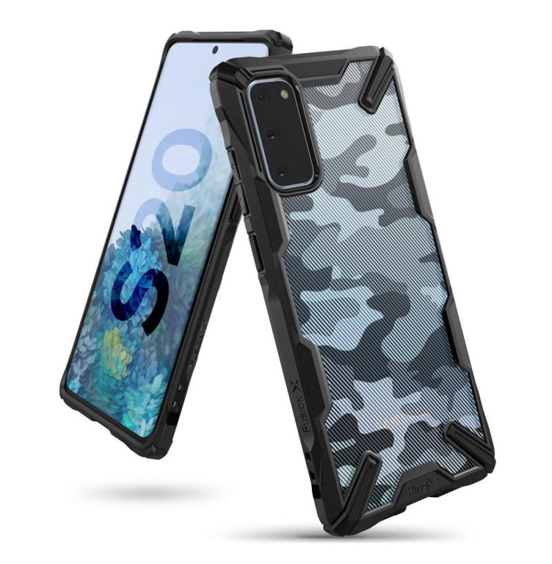 7852 - Ringke Fusion X хибриден кейс за Samsung Galaxy S20