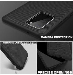 7874 - MadPhone релефен TPU калъф за Samsung Galaxy S20