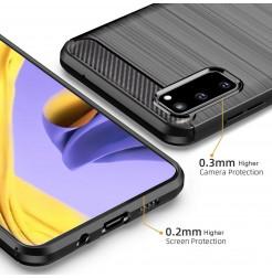 7888 - MadPhone Carbon силиконов кейс за Samsung Galaxy S20