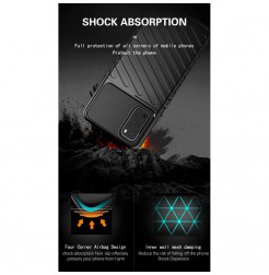 7898 - MadPhone Thunder силиконов кейс за Samsung Galaxy S20