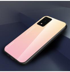 7931 - NXE Sky Glass стъклен калъф за Samsung Galaxy S20