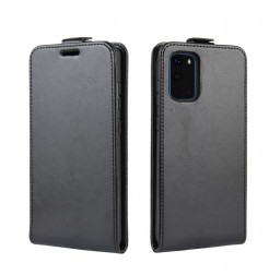 8104 - MadPhone Flip кожен калъф за Samsung Galaxy S20