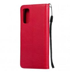 8142 - MadPhone Classic кожен калъф за Samsung Galaxy S20