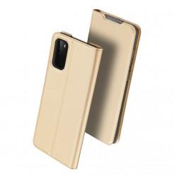 8163 - Dux Ducis Skin кожен калъф за Samsung Galaxy S20
