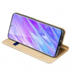 8166 - Dux Ducis Skin кожен калъф за Samsung Galaxy S20