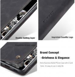 8188 - CaseMe премиум кожен калъф за Samsung Galaxy S20