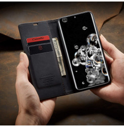 8189 - CaseMe премиум кожен калъф за Samsung Galaxy S20