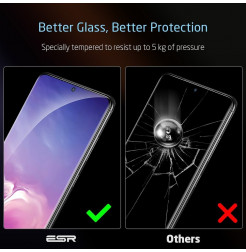 8230 - ESR ScreenShield стъклен протектор за Samsung Galaxy S20+ Plus